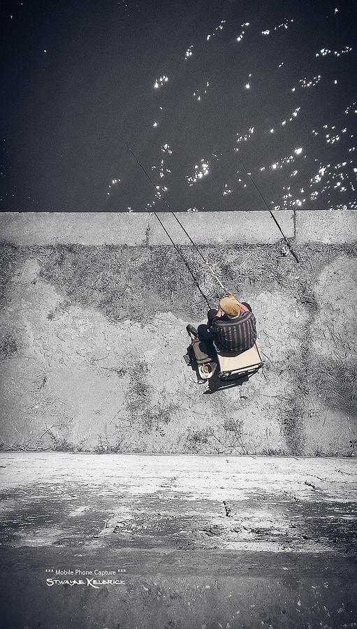 Fine Art America Photograph - Loneliness Of A Fisherman by Stwayne Keubrick