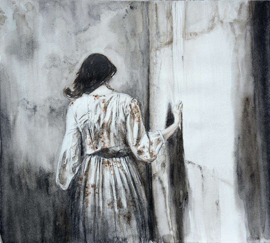 Loneliness Painting - Loneliness by Yulia Gabyan