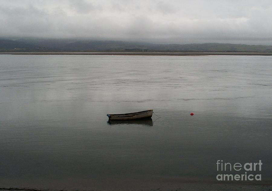 Boat Photograph - Lonely Boat by Deborah Brewer