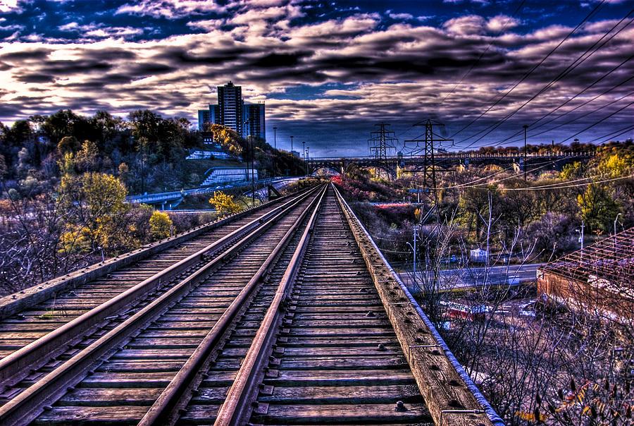Bridge Photograph - Lonely Bridge by Ryan McIntyre