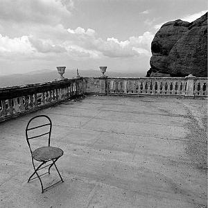 Chair Photograph - Lonely Chair by Troy Ziel