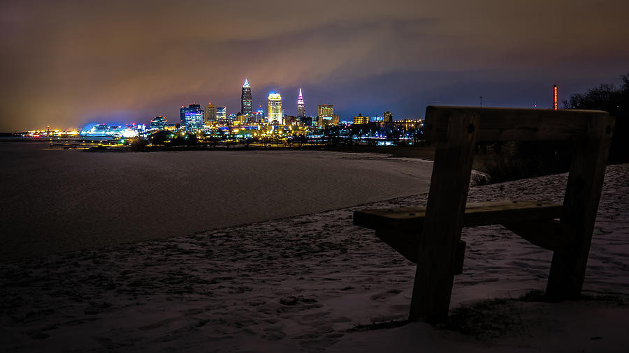 Cleveland Photograph - Lonely City by Alex Farmer