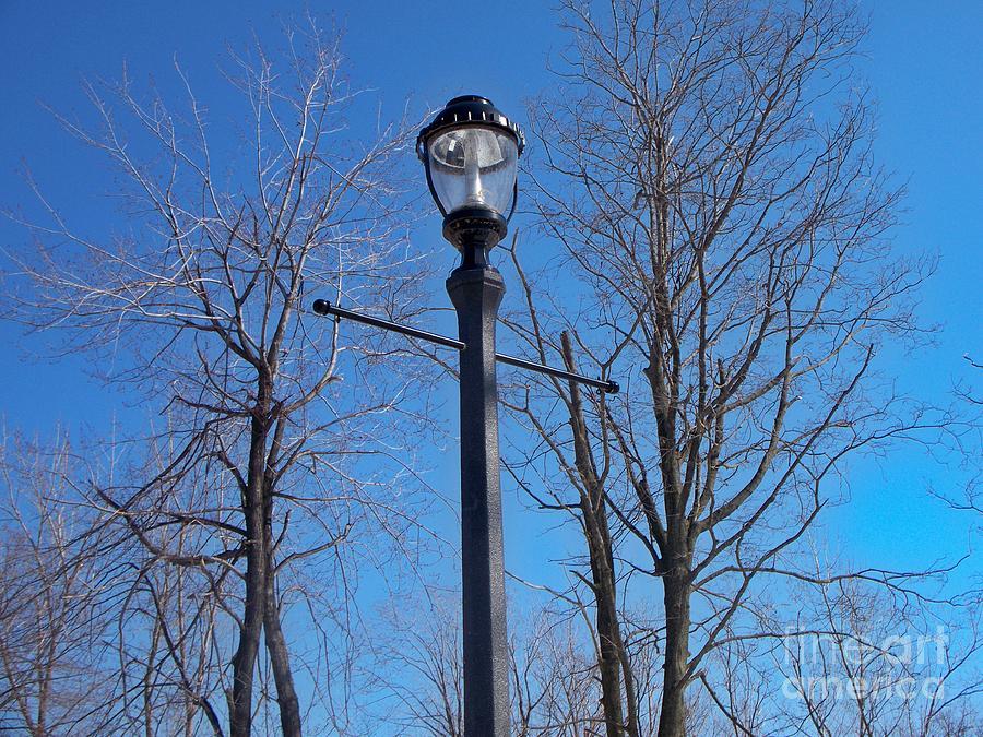 Lamp Post Photograph - Lonely Lamp Post by Deborah MacQuarrie-Selib
