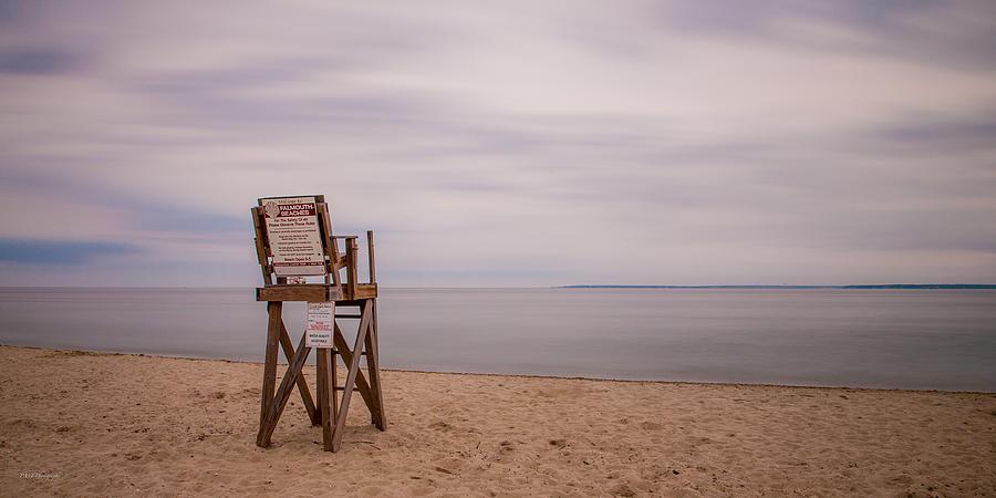 Beach Photograph - Lonely Lifeguard by Paul Treseler