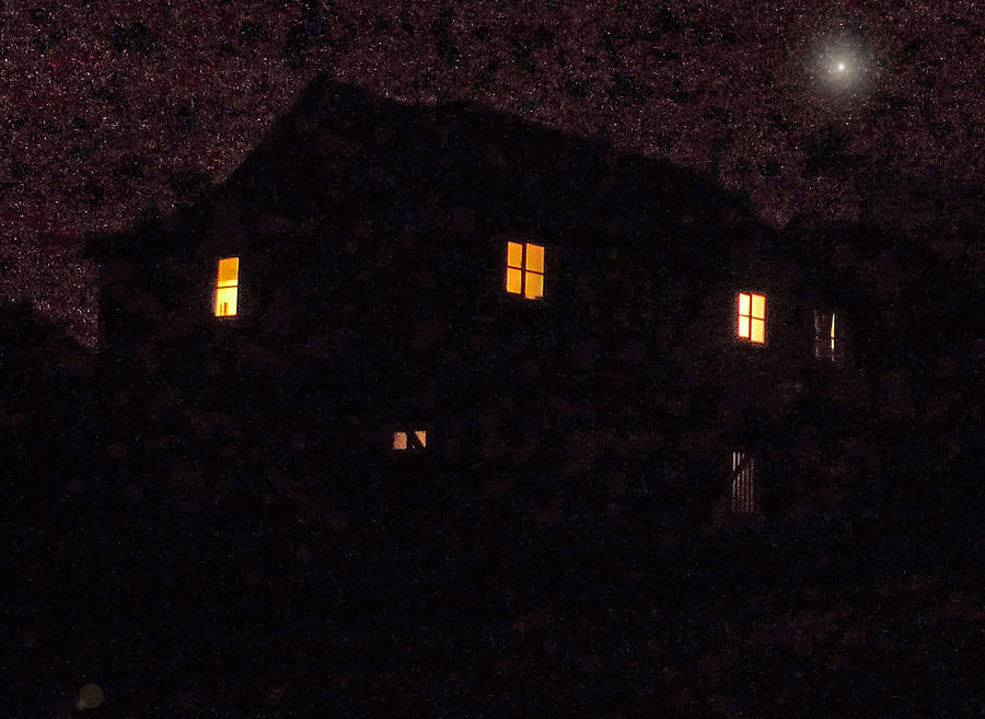 House Photograph - Long After Midnight by Nigel Chaloner