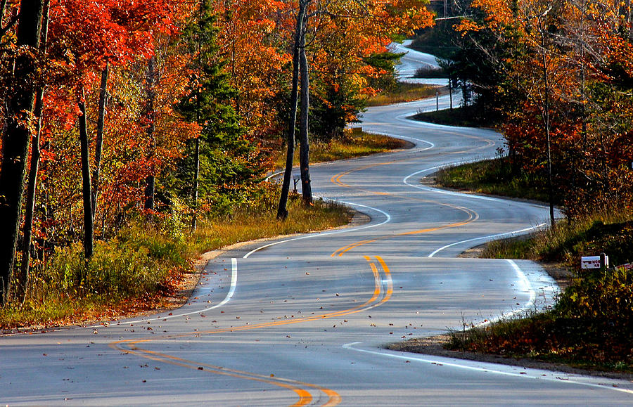 Long and Winding Road by Jon Reddin Photography