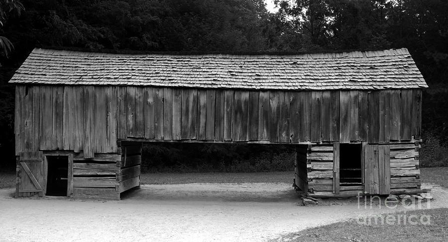 Barn Photograph - Long Barn by David Lee Thompson