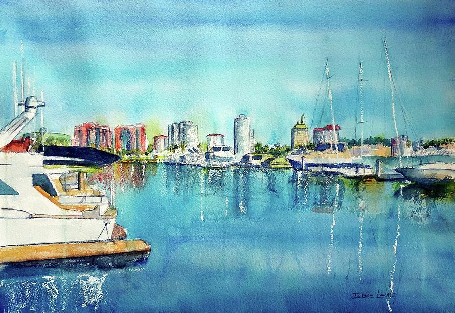 Long Beach Coast by Debbie Lewis