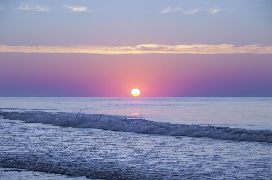 Long Beach Island Sunrise Photograph By Bill Cannon