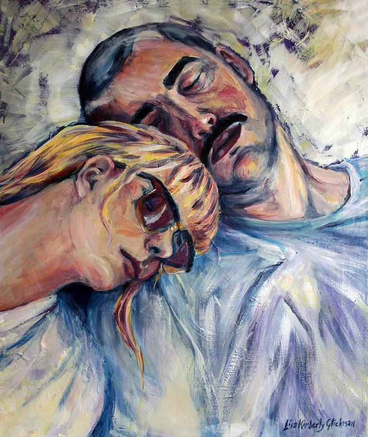 Sleep Painting - Long Drive by Lisa Kimberly Glickman