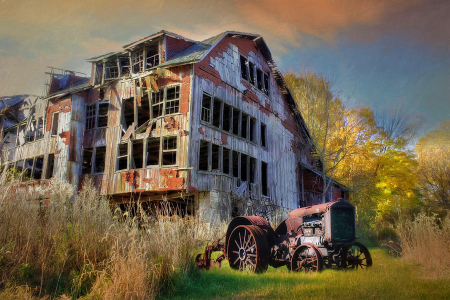 Old Photograph - Long Forgotten by Lori Deiter