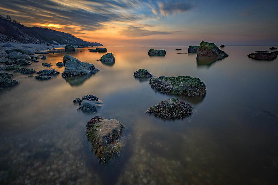 Wildwood State Park Photograph - Long Island Sound Tranquility by Rick Berk