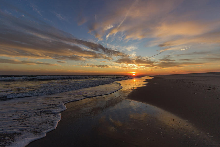 Sunset Photograph - Long Island Sunset by Roderick Breem
