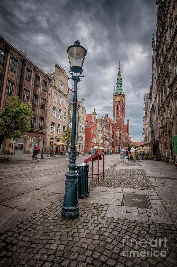 Long Market Street In Gdansk Photograph