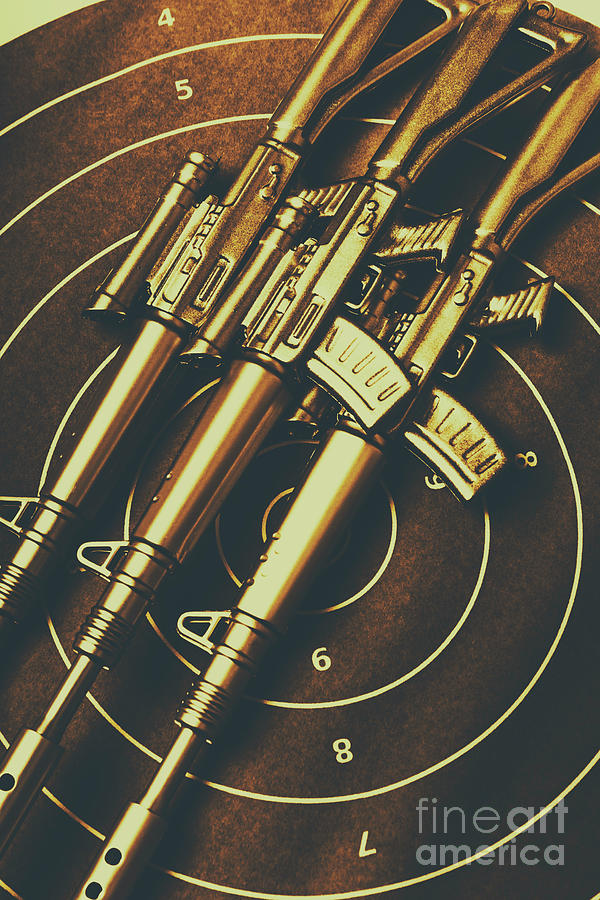 Weaponry Photograph - Long Range Tactical Rifles by Jorgo Photography - Wall Art Gallery