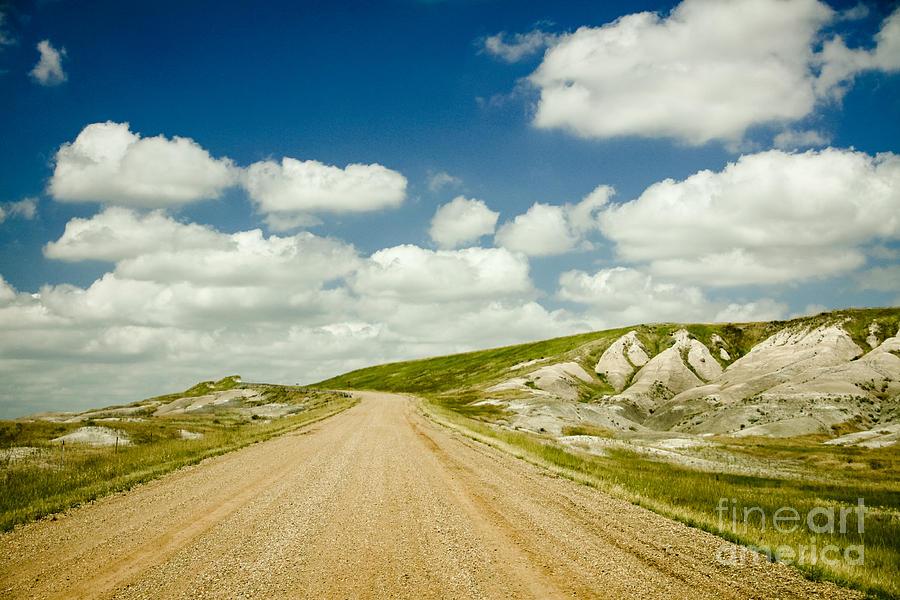 Landscape Photograph - Long Road Ahead by Sandy Adams