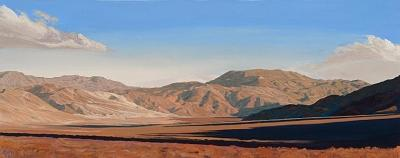 Long Shadows Eureka Valley Painting by Mary-Austin Klein
