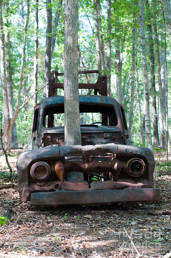Truck Photograph - Long Time Gone by Maureen Norcross
