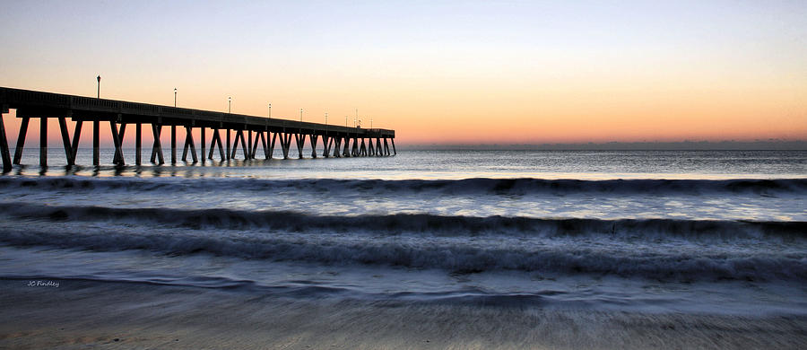 Beach Photograph - Long View by JC Findley