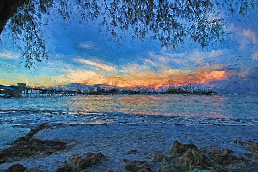 Coquina Beach Florida Photograph - Longboat Pass 2 by HH Photography of Florida