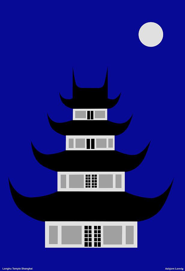 Longhua Digital Art by Asbjorn Lonvig