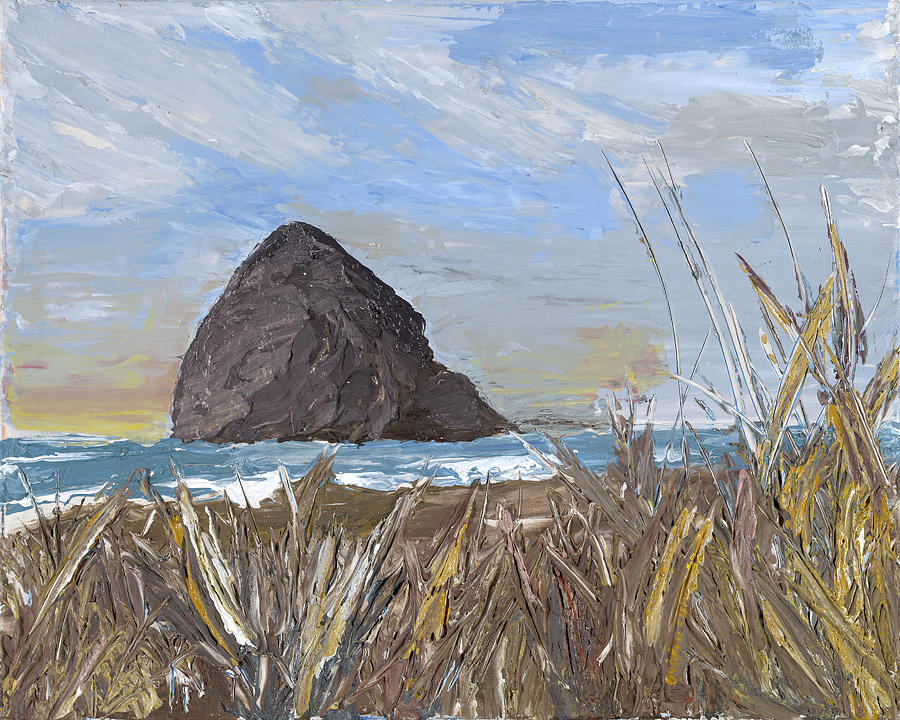 Longing for the sounds of Haystack Rock by Ovidiu Ervin Gruia