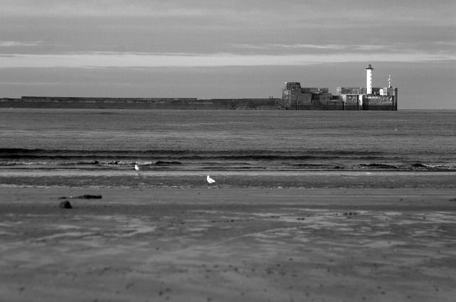 Photographer Photograph - Lonley Sea by Jez C Self