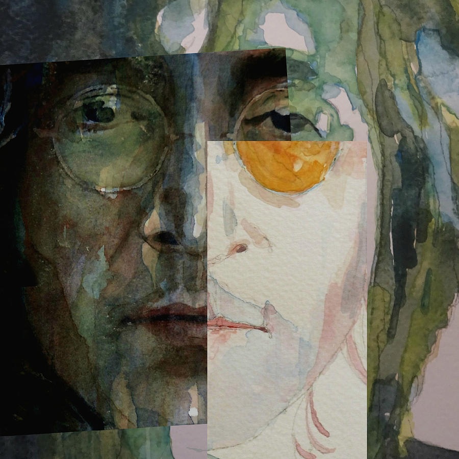 John Lennon Painting - Look @ Me by Paul Lovering