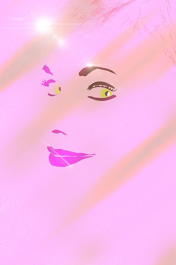 Eyes Painting - Look At Me. Smile by Ivan Gomez