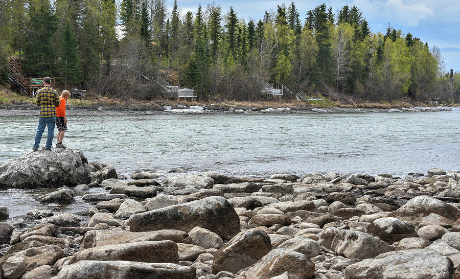 Kenai River Photograph - Look at that Son by Crewdson Photography