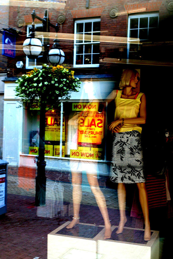 Photographer Photograph - Look Back In Me by Jez C Self
