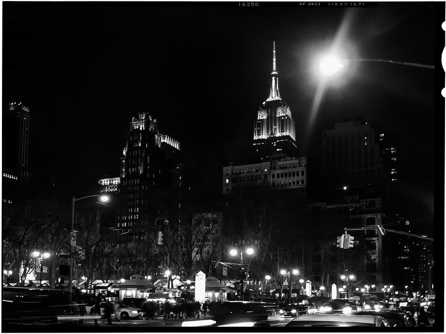 Ny Photograph - Look From Bryan Park by Wayne Gill