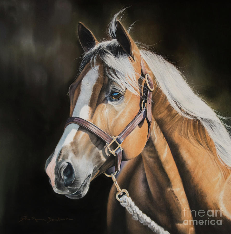 Palomino Pastel - Look on the Bright Side by Joni Beinborn