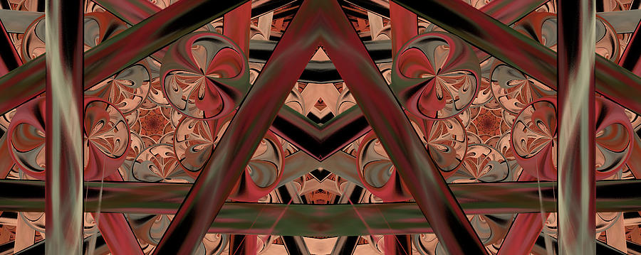 Abstract Digital Art - Look Within - Abstract by Georgiana Romanovna