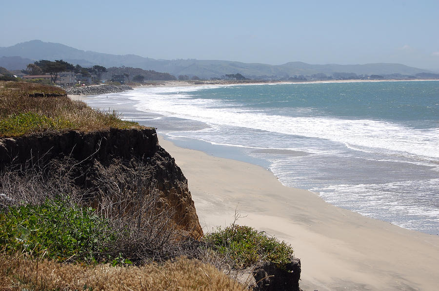 Looking Back at Half Moon Bay From the North by Carolyn Donnell