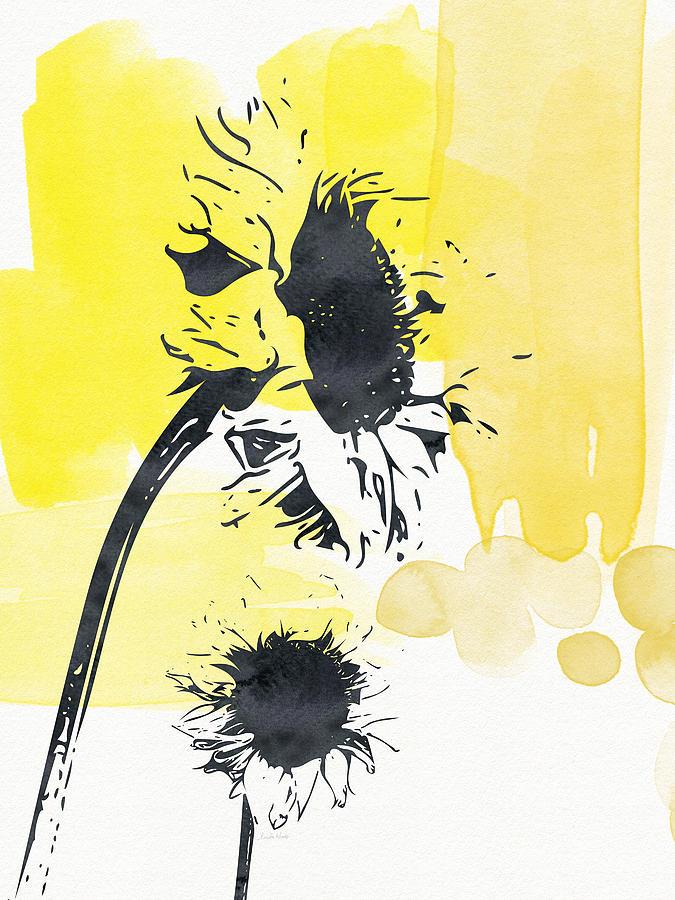 Looking Forward- Art By Linda Woods Painting