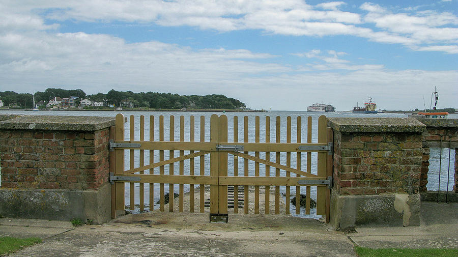 Brownsea Island Photograph - Looking From Brownsea Towards Sandbanks And Shell Bay by Maria Joy