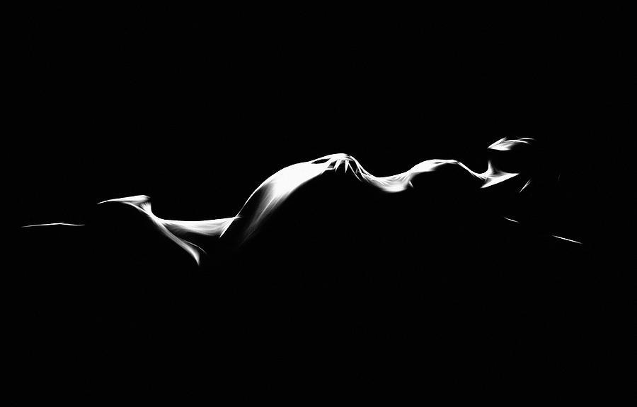 Looking Into The Light Digital Art by Steve K