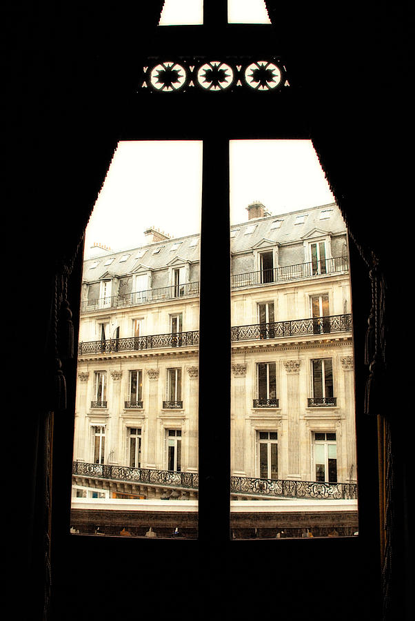 Window Photograph - Looking Out by Cabral Stock