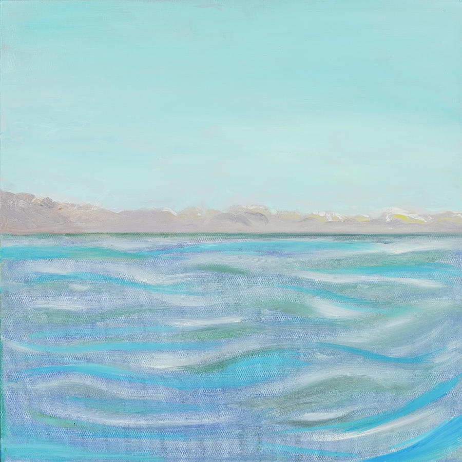 Looking South tryptic part 1 - SOLD by Laura Lee Cundiff