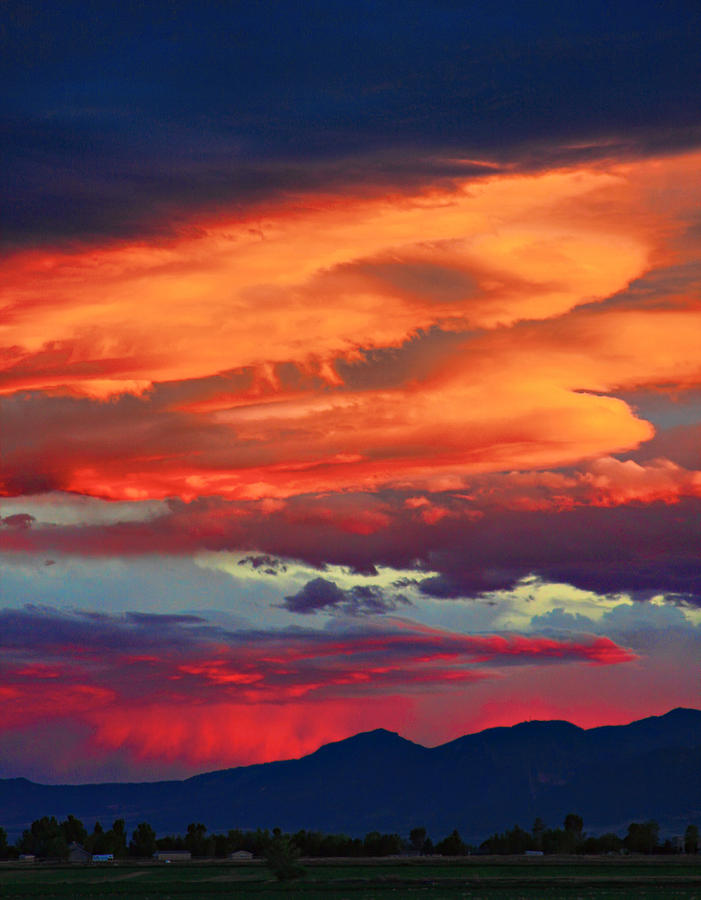 Sunsets Photograph - Looking To Boulder by James BO  Insogna