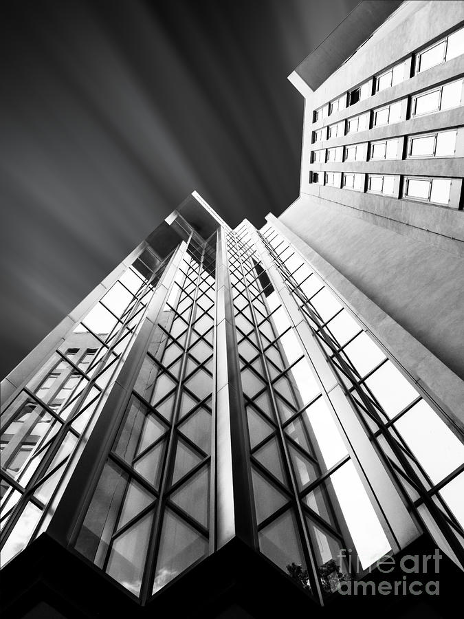 Skyscraper Photograph - Looking Up by Stefano Senise