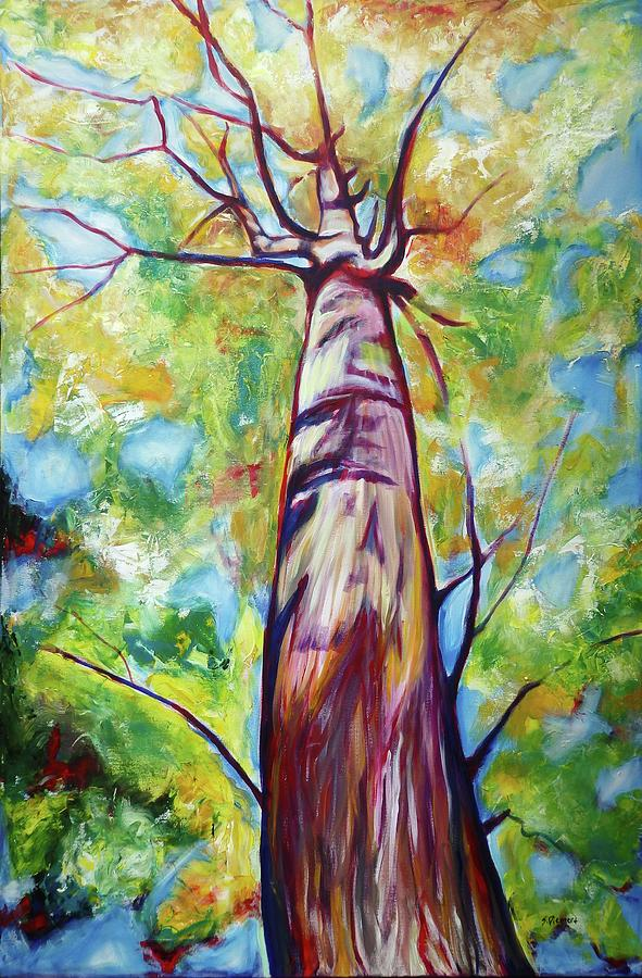 Looking Up Vii Painting