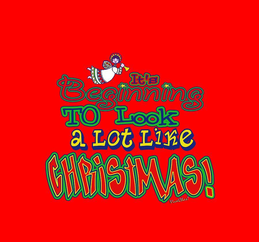 Christmas Digital Art - Looks Like Christmas by Chas Sinklier