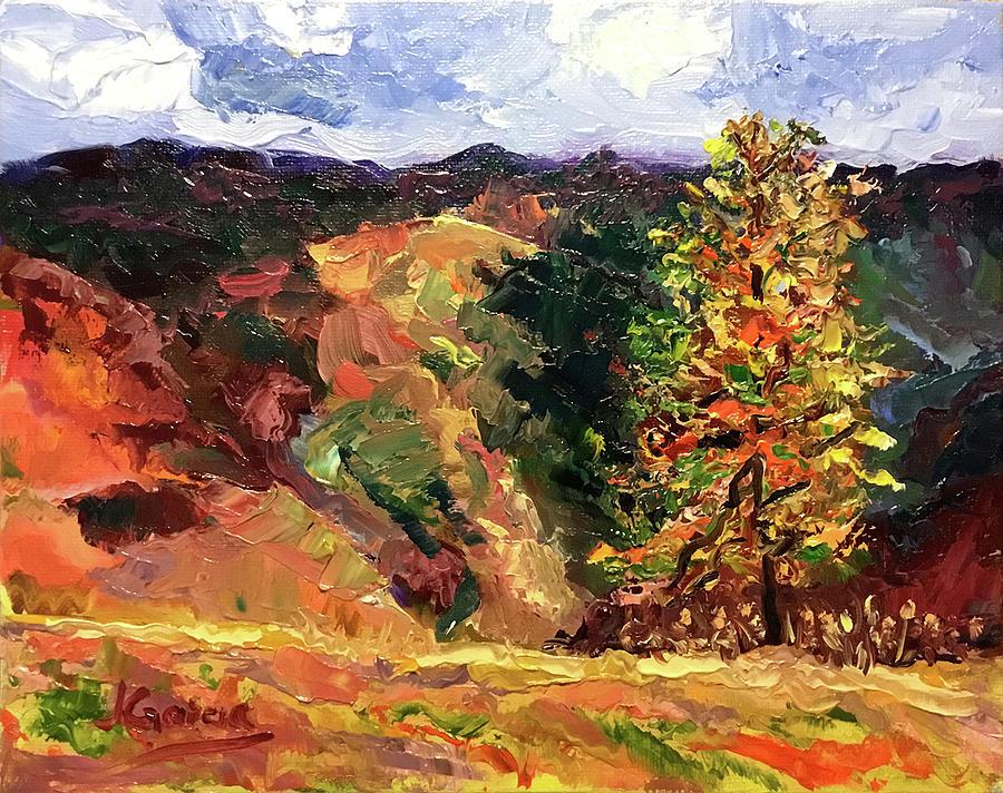 Loose Landscape by Janet Garcia