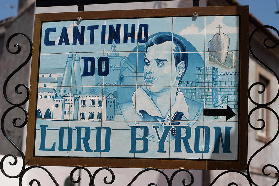 Lord Byron Photograph - Lord Byon Ate Here by Carl Purcell