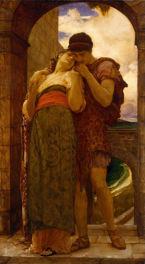 Man Painting - Lord Frederic Leighton - Wedded by Wedded