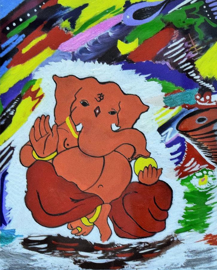 Lord Ganesha  by Rahul Gautam