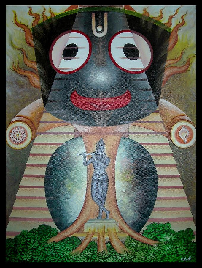 Lord Painting - Lord Jagannath by Rabi narayan Rath