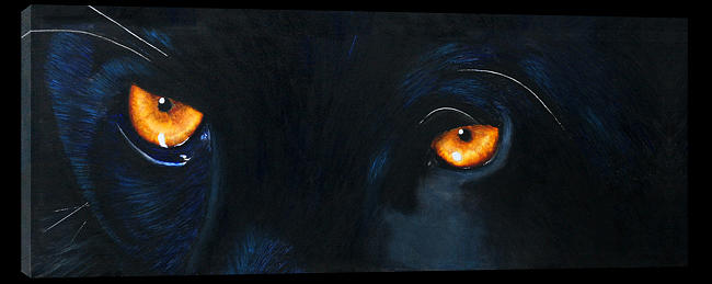 Puma Painting - Lord Of The Night by Paul Whitton